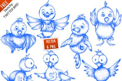 35 Beautiful Twitter Icons Sets 35 Beautiful Twitter Icons Sets free twiter icons vector
