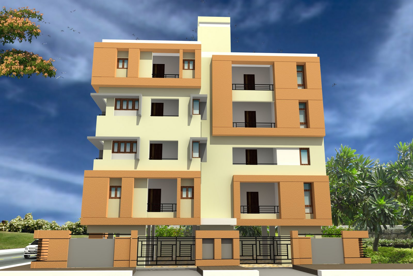 SHILPI DESIGN GROUP: CIVIL WORKS FOR APARTMENTS