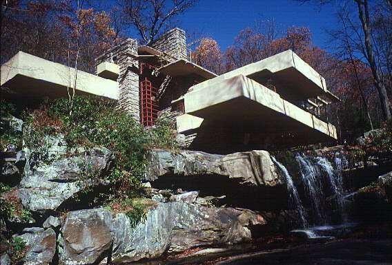 Frank Lloyd Wright Falling Water Wallpaper Selectividad Para Vagos Casa Sobre La Cascada De Wright