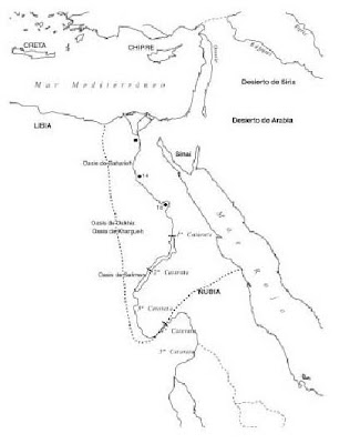 Mapa Del Antiguo Egipto Blanco Y Negro.Arte Torreherberos Actividades Sobre El Arte Egipcio