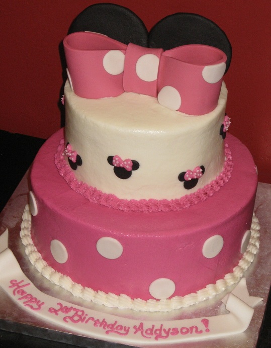 Katie S Cakes Mini Mouse Cake