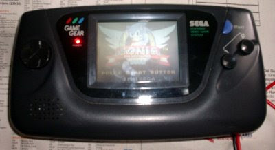 Game Gear Consertado