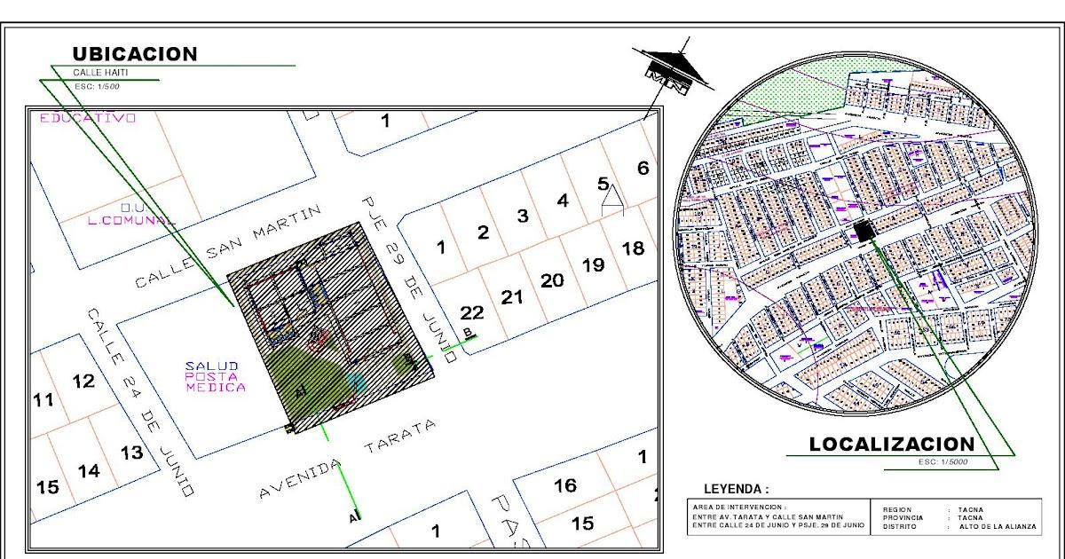Localización De Una Casa En El Mapa: Ingenieria Civil: Plano De Ubicacion Y Localizacion