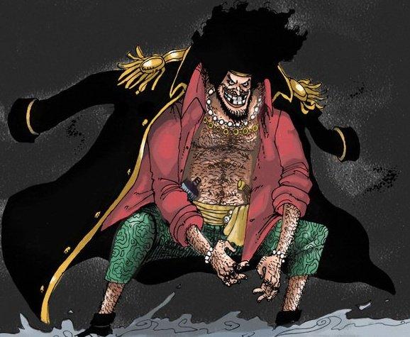 Anime Venus: Marshall D. Teach Blackbeard