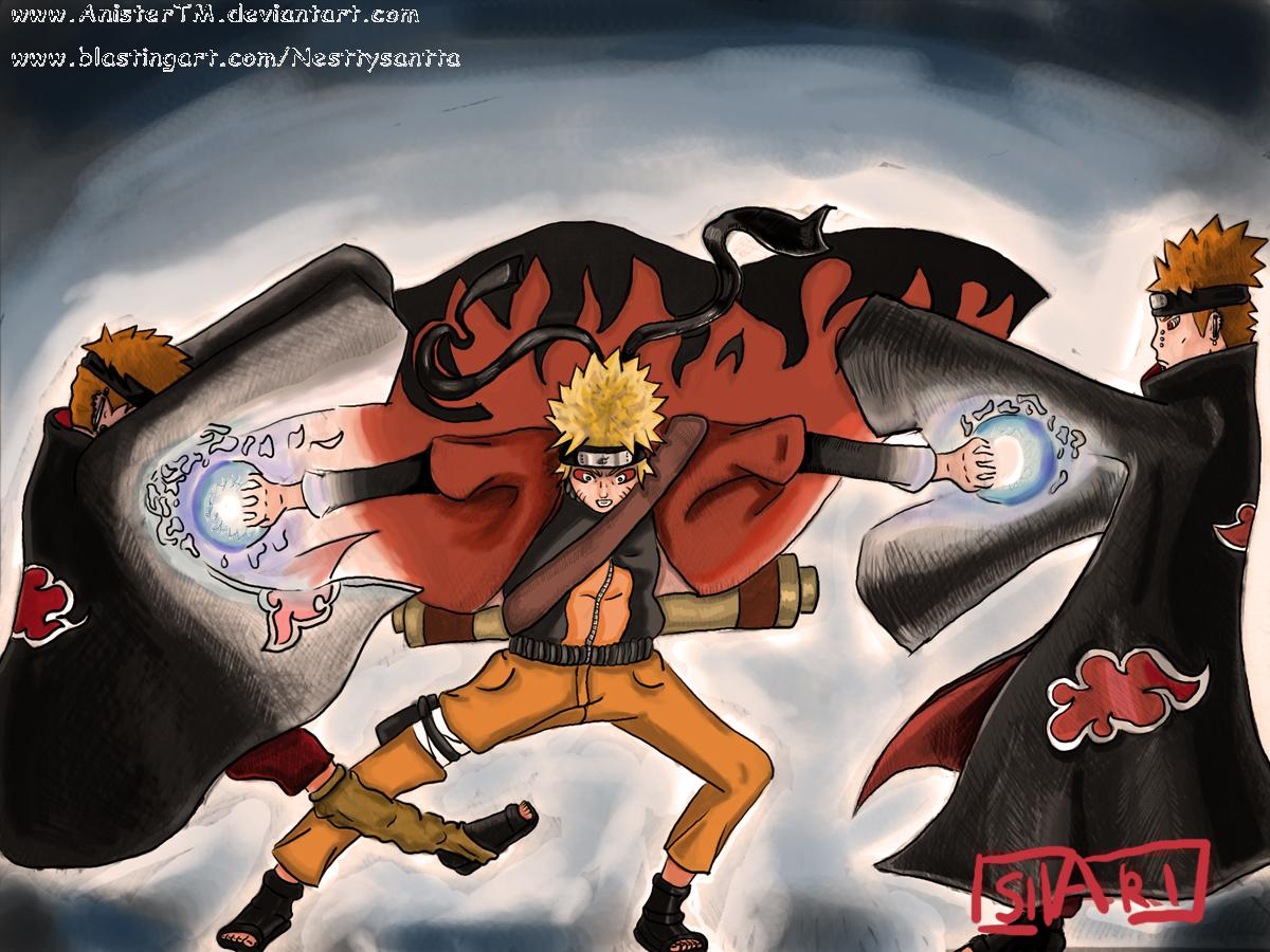Hanunas Naruto Double Rasengan Wallpaper