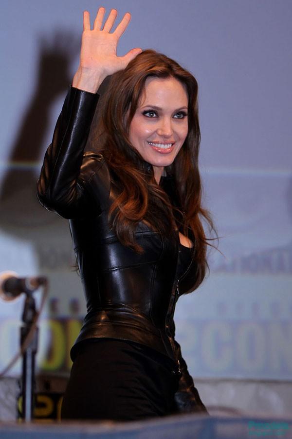 Angelina Jolie Bondage