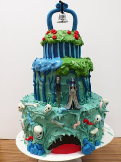 tim burton inspired wedding cakes cakes by zobot tim burton inspired cakes 21007