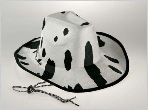 Los sombreros de cowboy con estampado de vaca. 8a1172d8715