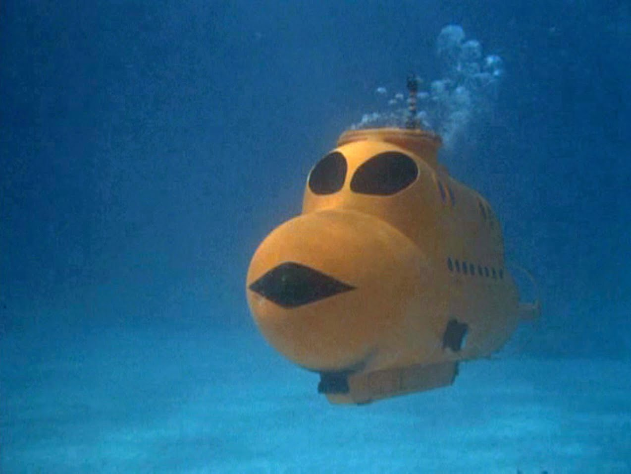 the flipper blog: Cool Things From Flipper: The Mini Submarine