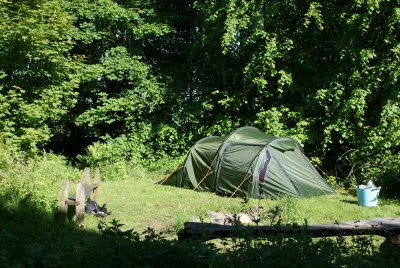 camping fife near edinburgh: Woodland camping (semi wild ...