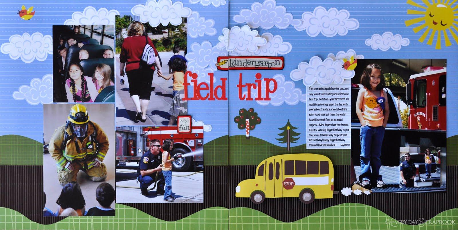Everydayme Kindergarten Field Trip