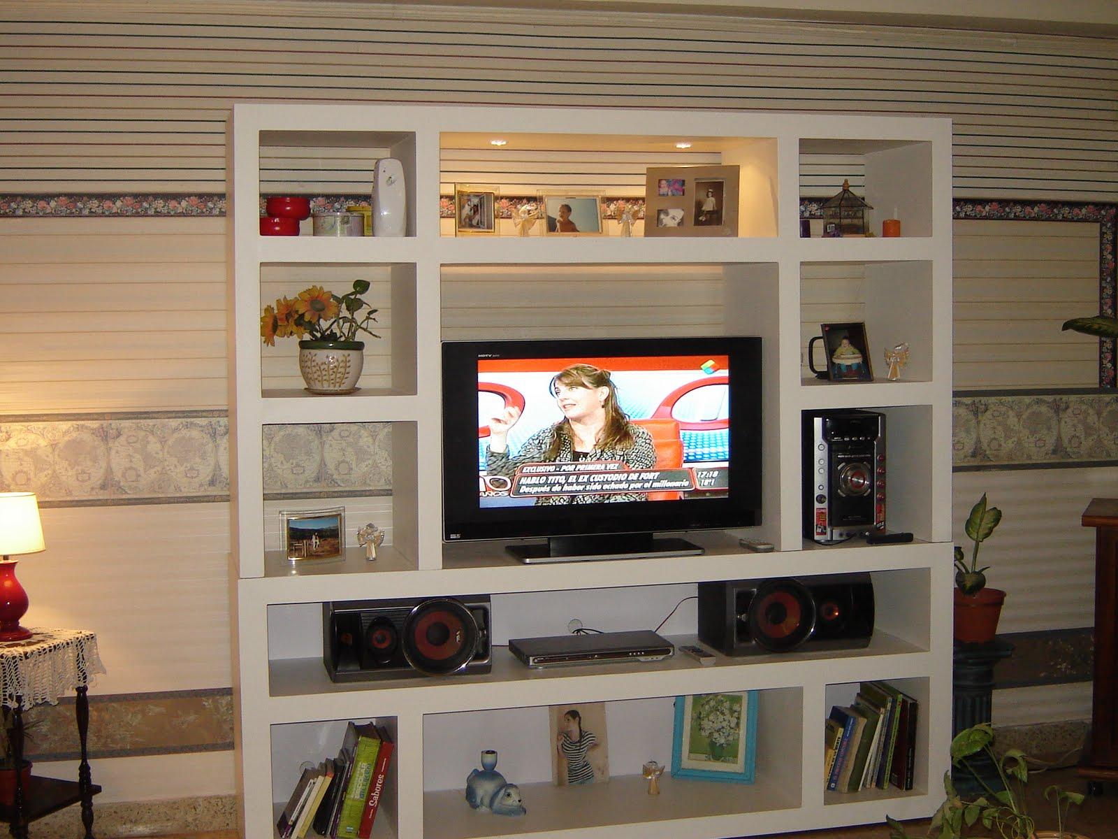 Dise os racks mueble para tv un dise o minimalista - Fotos muebles para tv ...