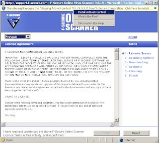 informatique: f-secure scan en ligne