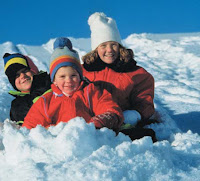 NAMC montessori school clothing guidelines for outdoor play children in snow