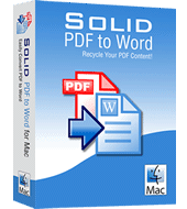 SOLID PDF TO WORD FOR MAC PDF