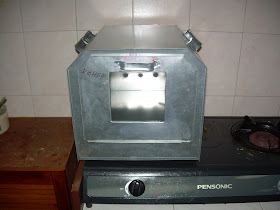 And Here S The Doorless Oven That Had Seen Better Days Baru Guna Sebulan Dua Pintu Dah Meletup P