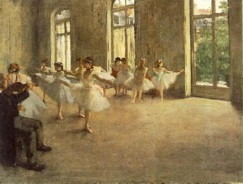Edward Degas painters every photographer should know, The Rehearsal, ballerinas dancing