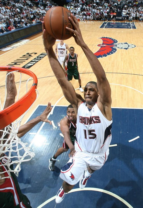 You Got Dunked On: 2010 NBA Playoffs: Al Horford Dunks On ...