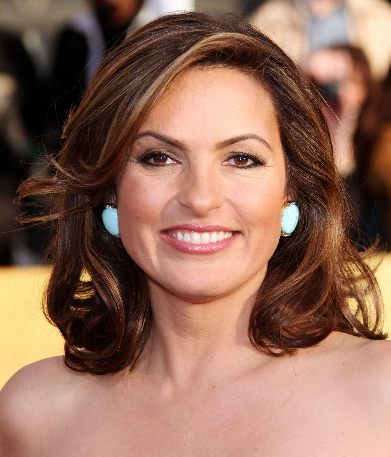Celebrity Whereabouts Mariska Hargitay At The 17th Annual