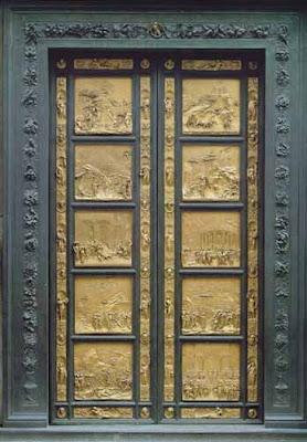 Un d a una obra ghiberti puerta del para so florencia for Puerta 4 del jockey