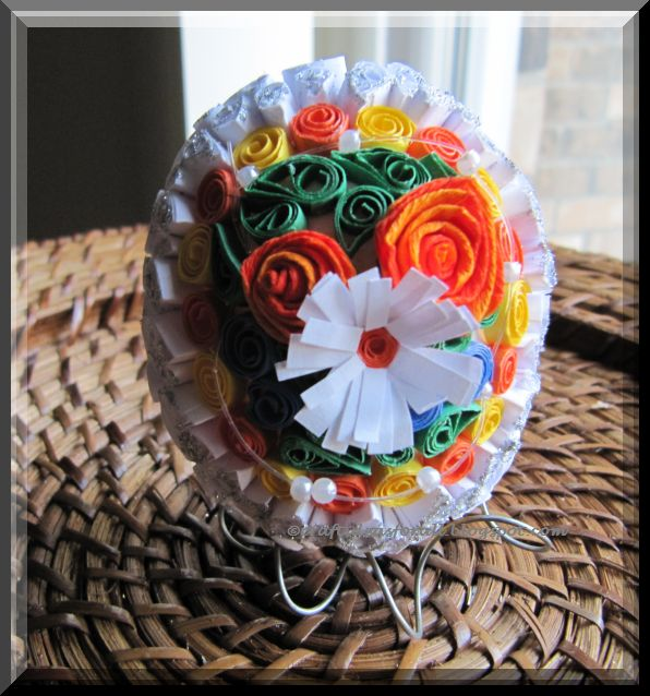 Craft Ideas For All Paper Quilled Easter Egg