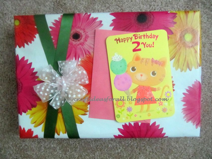 Craft ideas for all birthday gift wrapping ideas for Crafts for birthdays as a gift