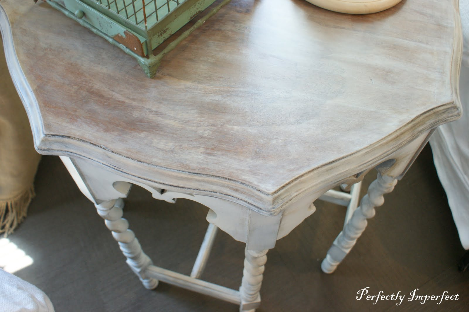 Barley Twist Table Perfectly Imperfect Blog