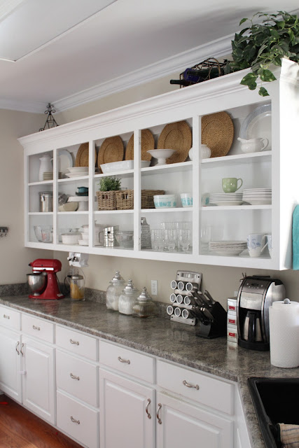 making kitchen cabinets my and a kitchen update open shelving perfectly 23015