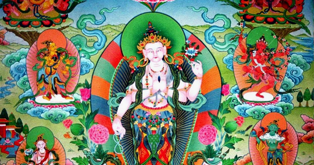 Om Mani Padme Hum Buddhist Mantra Psychedelic Adventure
