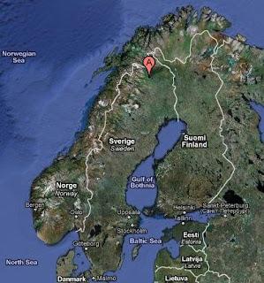 Kiruna Svezia