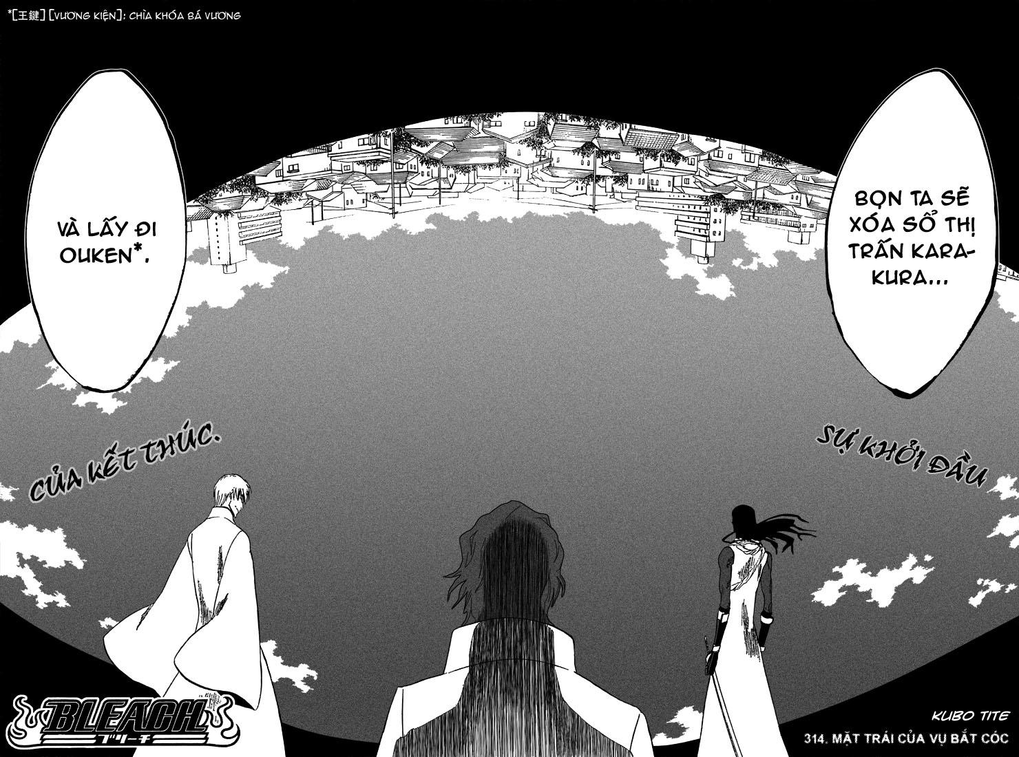 Bleach chapter 314 trang 4