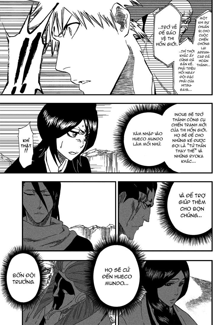 Bleach chapter 314 trang 11