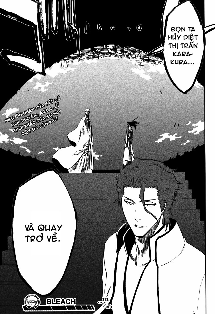 Bleach chapter 313 trang 21