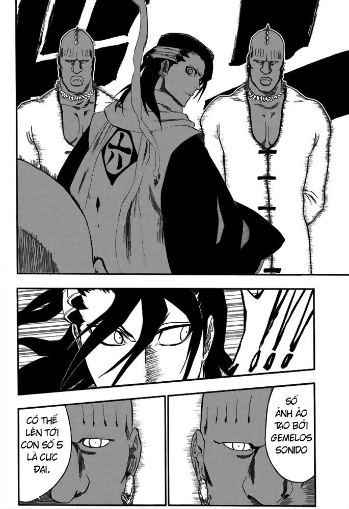 Bleach chapter 299 trang 18