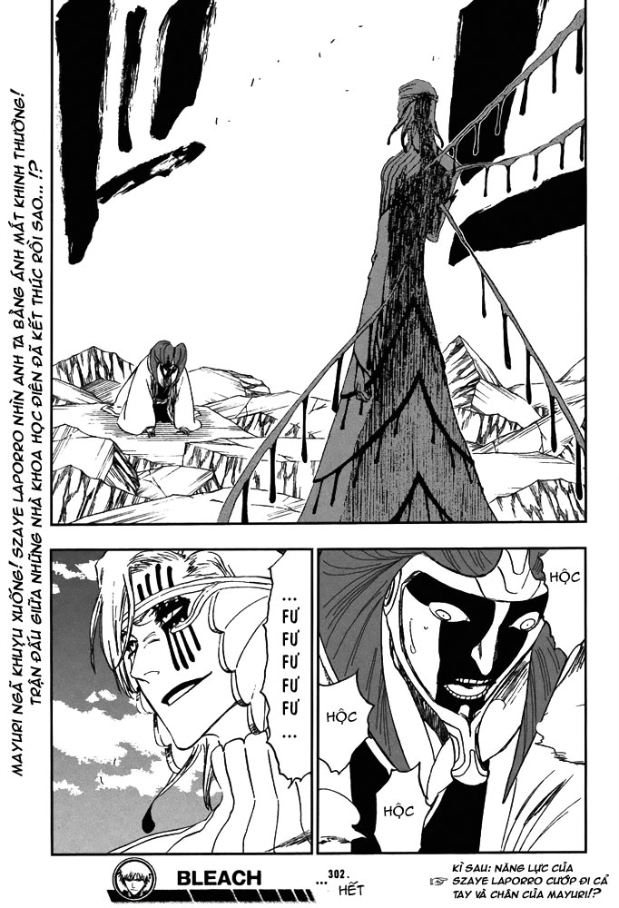 Bleach chapter 302 trang 21