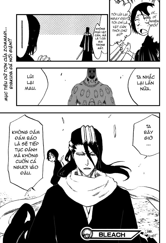 Bleach chapter 300 trang 21
