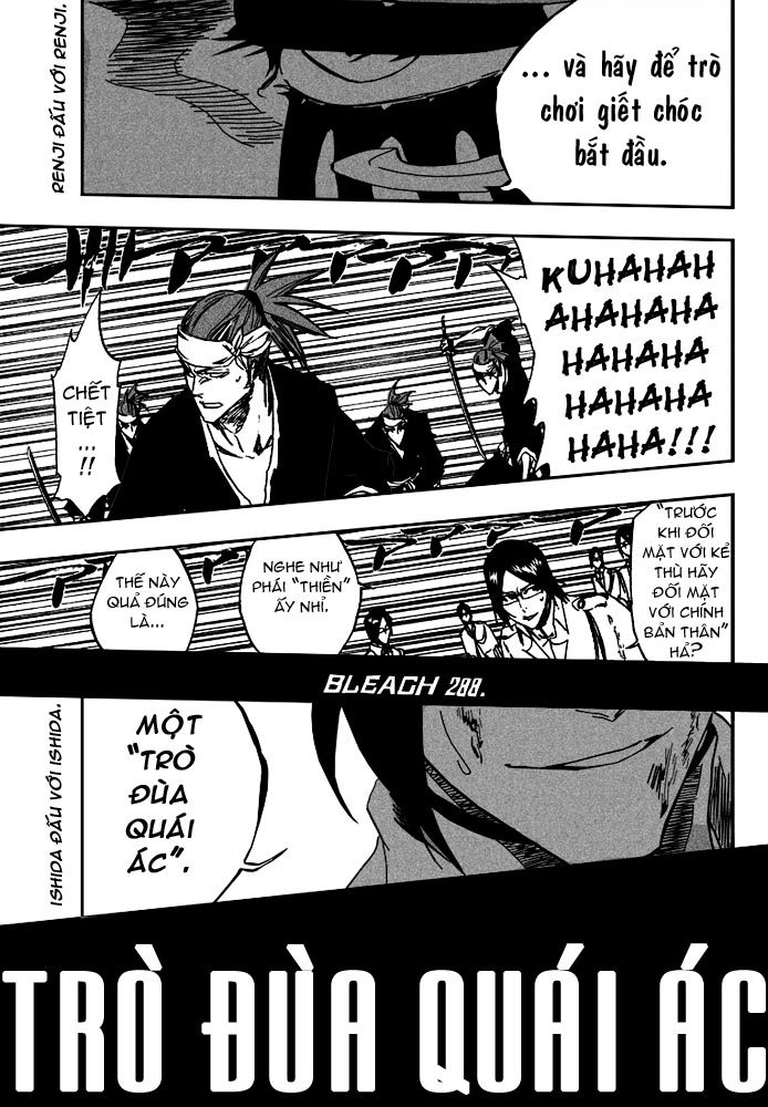 Bleach chapter 288 trang 16