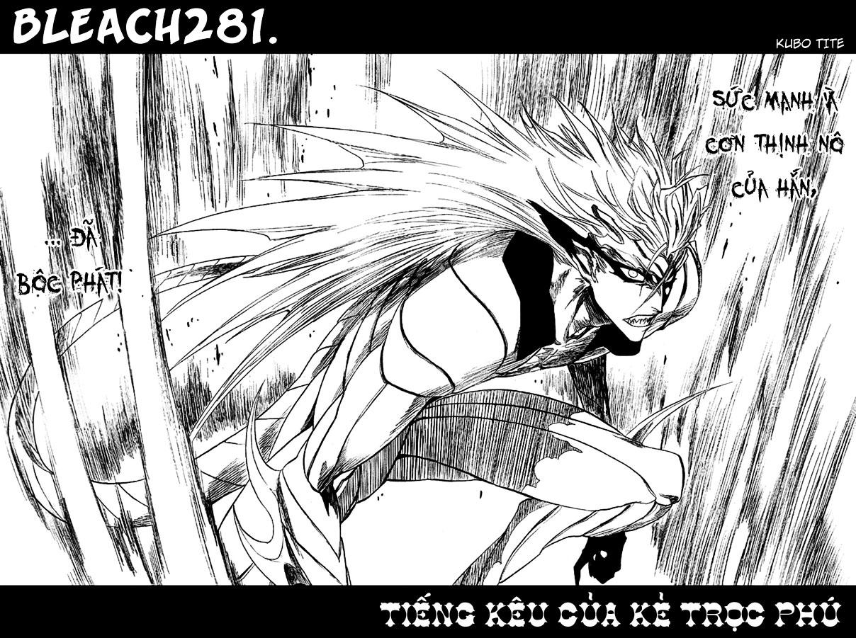 Bleach chapter 281 trang 11