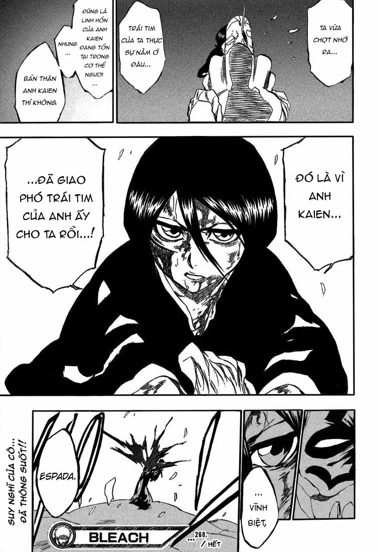 Bleach chapter 268 trang 22