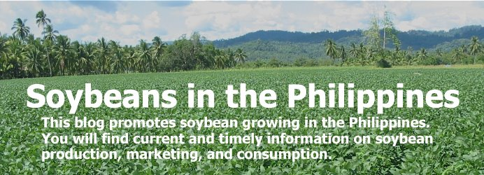 Soybeans in the Philippines