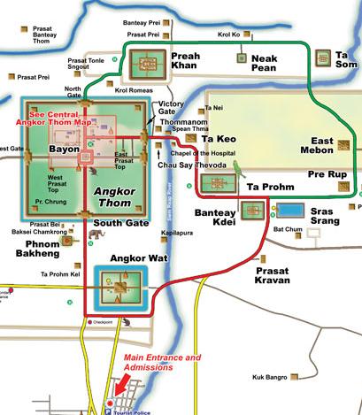 Angkor Wat Karte.Angkor Wat Reise Nach Kambodscha Und Thailand Angkor What