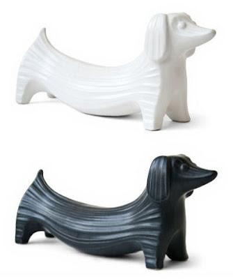 Ceramic Dachshund By Jonathan Adler