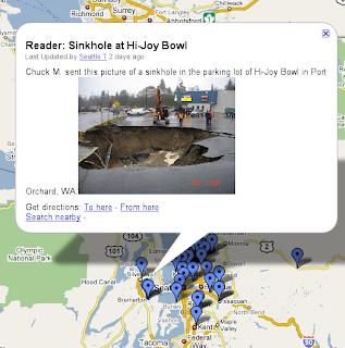 Google Lat Long Flooding In Washington State