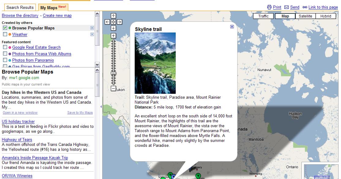Google Lat Long Whats Interesting Around Here - Google-maps-western-us