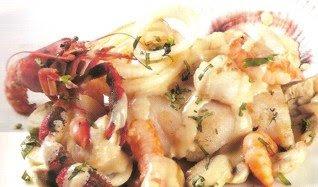 Receta de Filetes de lenguado en salsa de champiñones