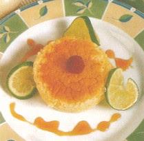 Receta de Flan esponjoso de limón