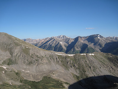 La Plata as seen from Mt. Belford