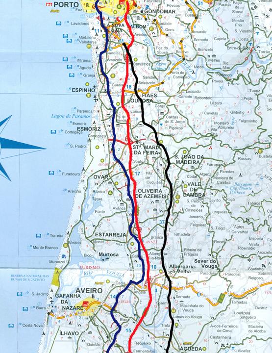 rede de autoestradas de portugal mapa A Nossa Terrinha: A rede portuguesa de auto estradas: motivo de  rede de autoestradas de portugal mapa