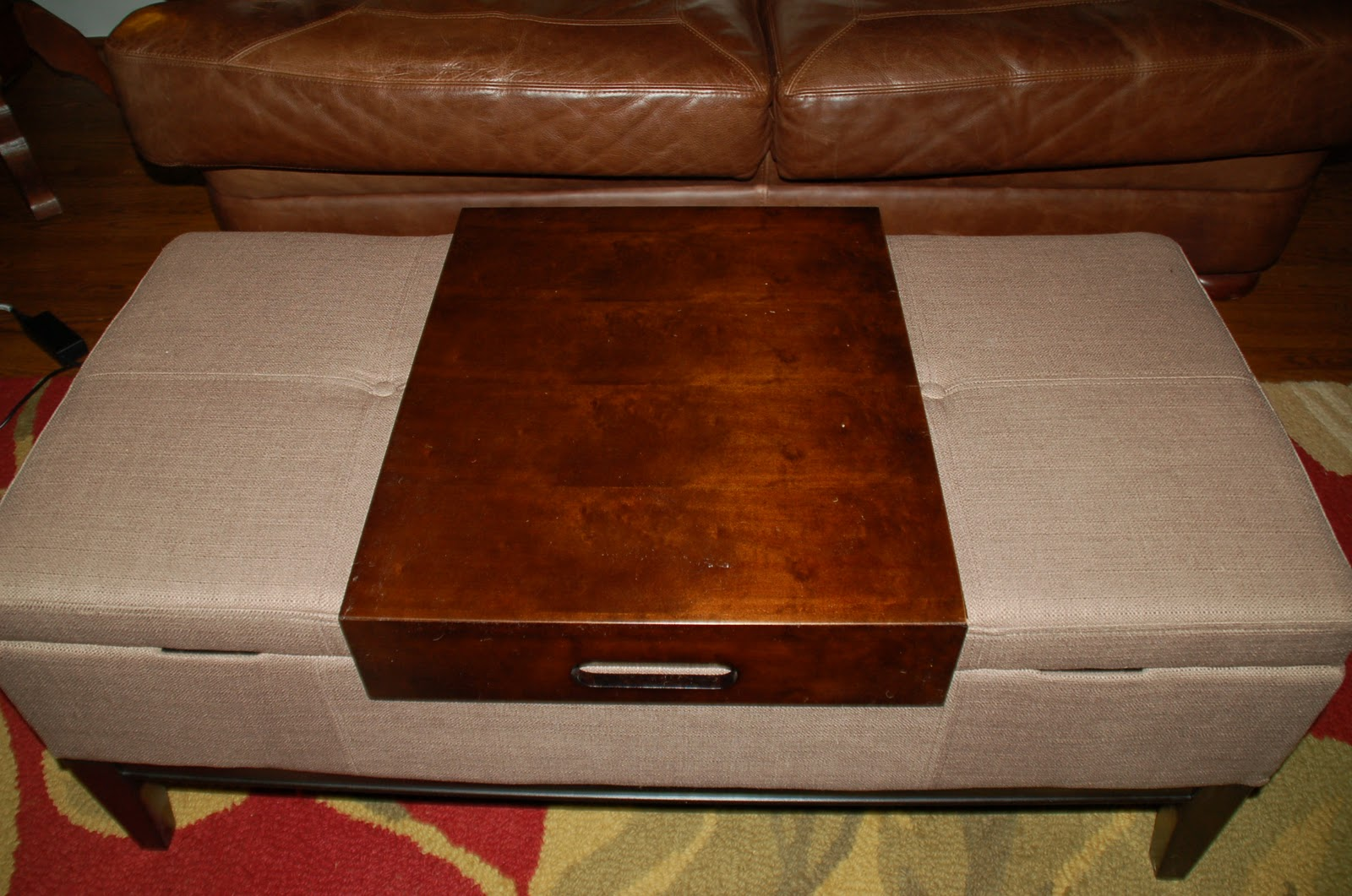 Thrifty Finds And Redesigns Ottoman Coffee Tables