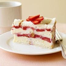 Weight Watchers Frozen Strawberry Layer Cake